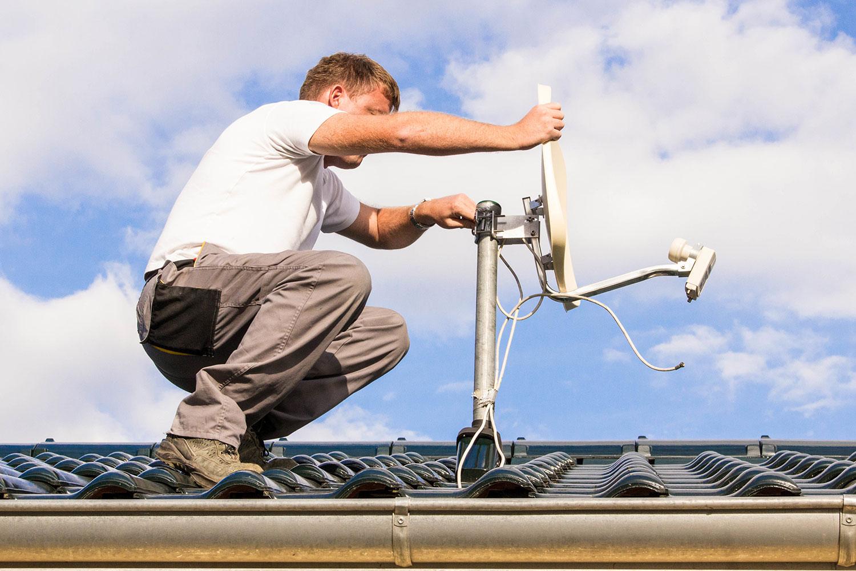 assistenza e manutenzione antenne TV e satellite modena